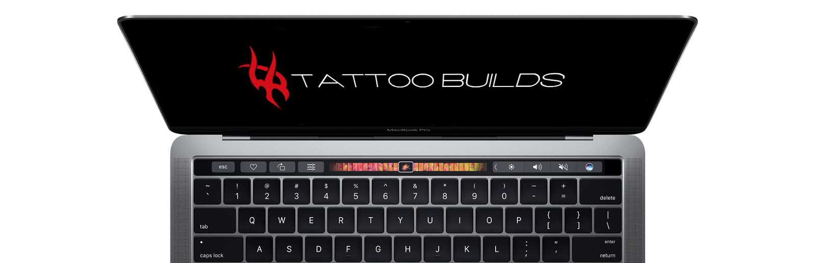 Tattoo Builds Laptop